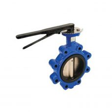 Butterfly Valve Epoxy Coated Iron Body with EPDM Seal